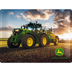 Blechschild John Deere Photo Modell 6150 R