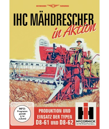 IHC Mähdrescher in Aktion